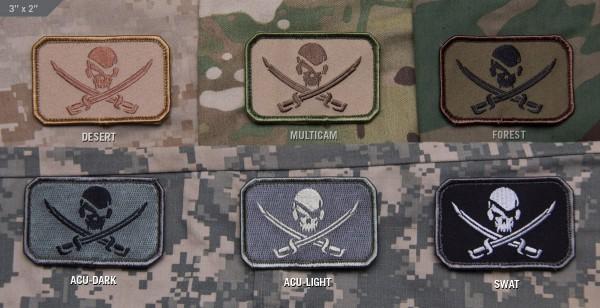 Mil Spec Monkey Patch PirateSkull Flag