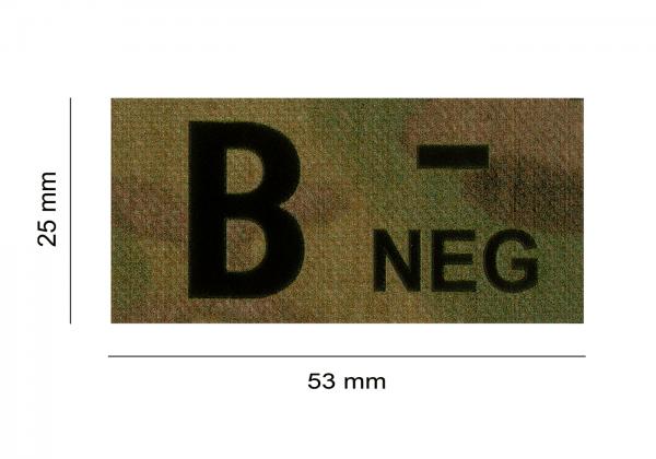 ClawGear IR Infrarot Patch B NEG