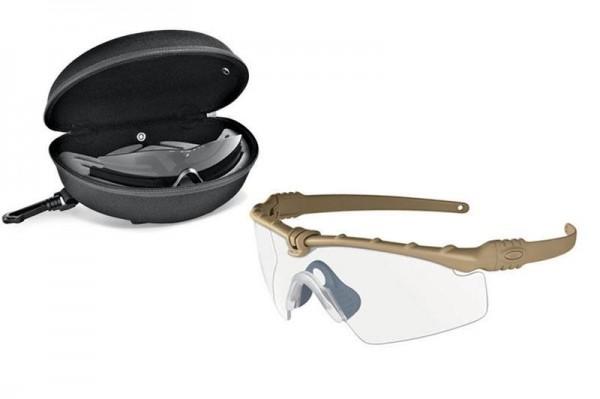 Oakley SI Ballistic M Frame 3.0 Array Dark Bone / Clear & Grey EN
