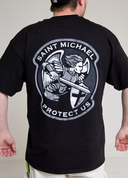 Mil Spec Monkey Saint Modern T shirt