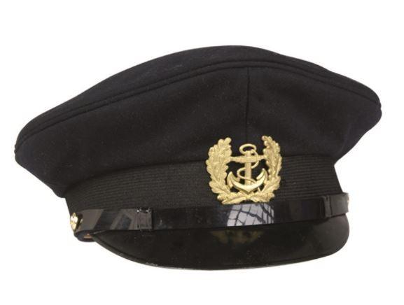 MIL TEC Marine Schirmmütze m. Abzeichen