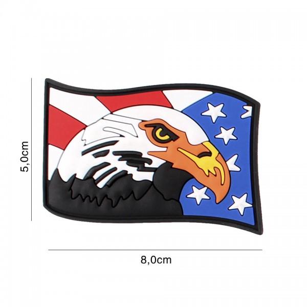 3D PVC USA Eagle Adler Patch