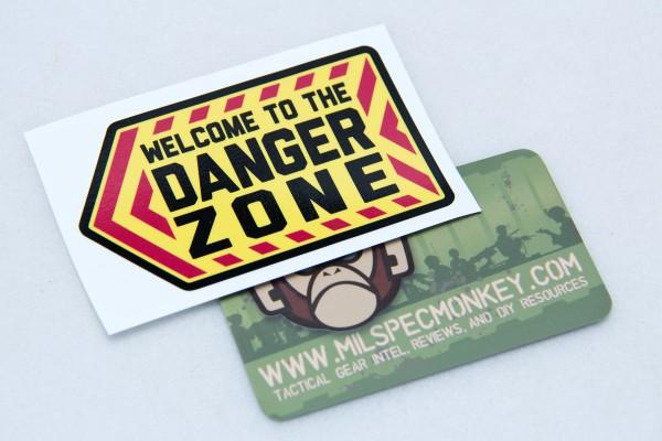 Mil Spec Monkey Danger Zone Sticker