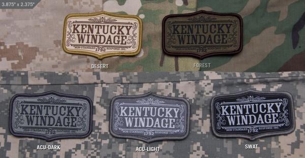 Mil Spec Monkey Patch Kentucky Windage
