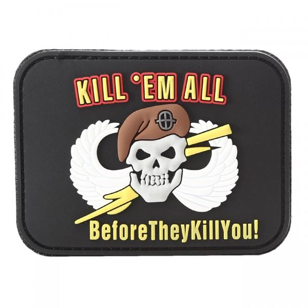 PVC 3D Patch Kill em all