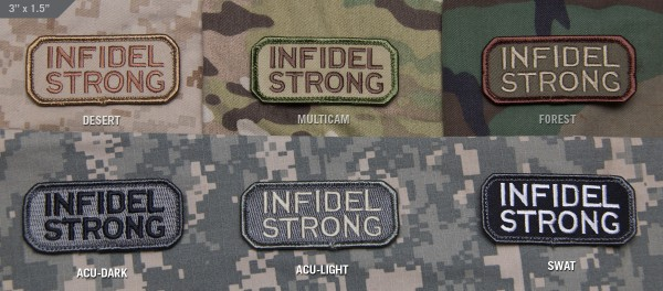 Mil Spec Monkey Patch Infidel Strong
