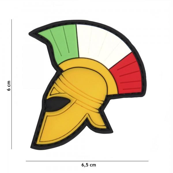 Patch 3D PVC Spartan helmet