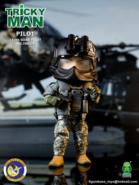 Trickyman TM004 Seal Team 6 Squad Pilot