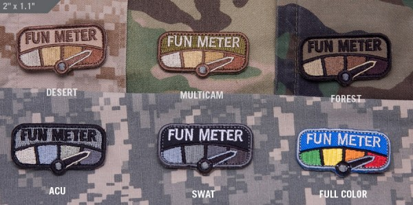 Mil Spec Monkey Patch Fun Meter