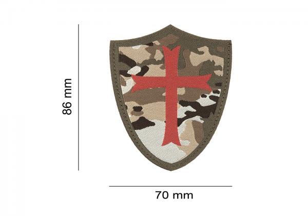ClawGear Crusader Schild Patch