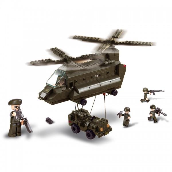 Sluban Helicopter Hubschrauber