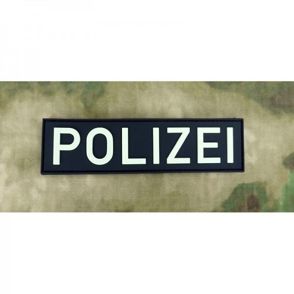 JTG Polizei Schriftzug Patch
