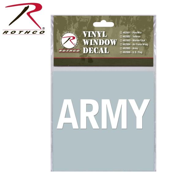 Rothco Military Vinyl Window Aufkleber
