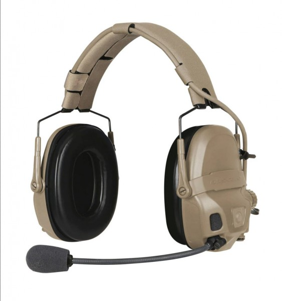 Ops Core AMP Gentex - Communication Headset - NFMI - Tan - Connectorized