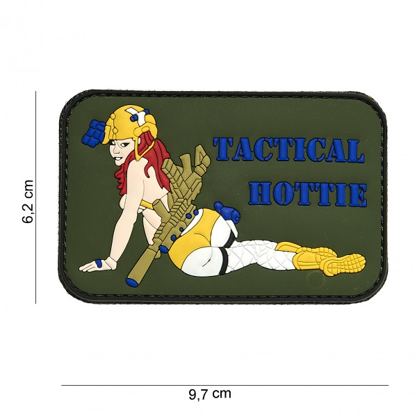 Patch 3D PVC tactical hottie