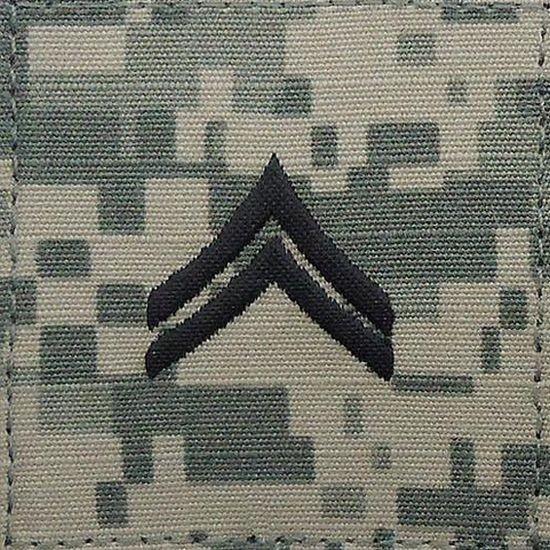 ACU Corporal Class E4 Rang Patch