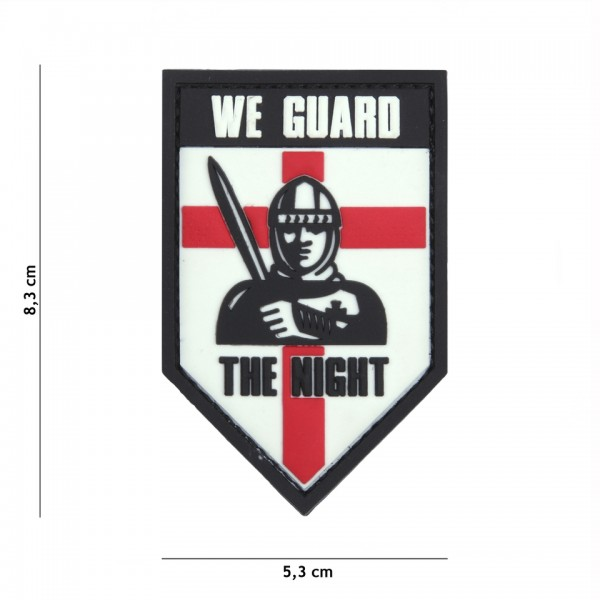 3D PVC we guard the night Patch