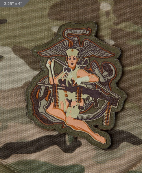 Mil Spec Monkey Patch Desert Marine