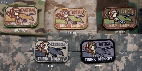 Mil Spec Monkey Patch Tactical Trunk Monkey