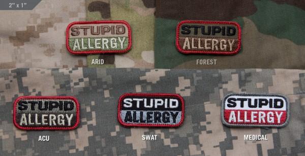 Mil Spec Monkey Patch Stupid Allergy