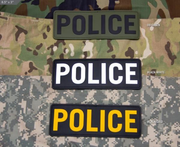 Mil Spec Monkey Patch POLICE