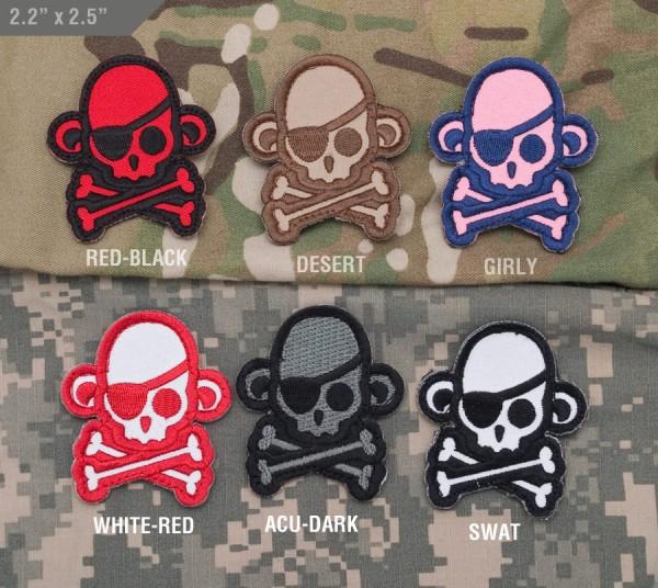 Mil Spec Monkey Patch Skullmonkey Pirate
