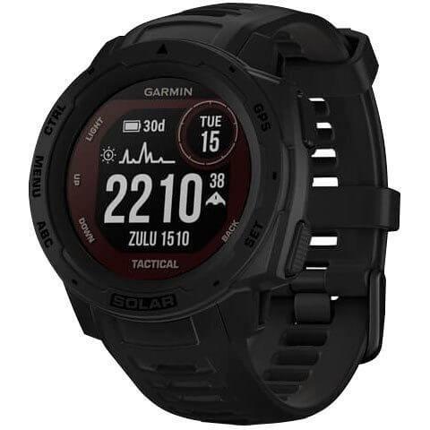 Garmin Instinct Solar Tactical Smartwatch Schwarz günstig kaufen