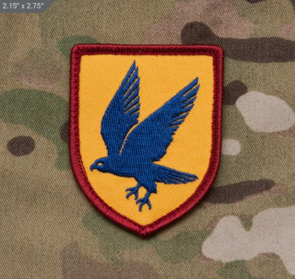 Mil Spec Monkey Patch Blue Falcon