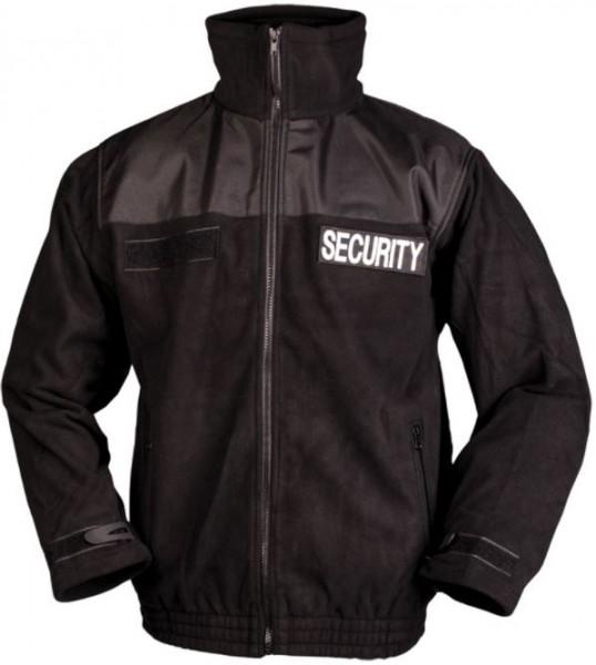 MIL TEC SECURITY FLEECEJACKE