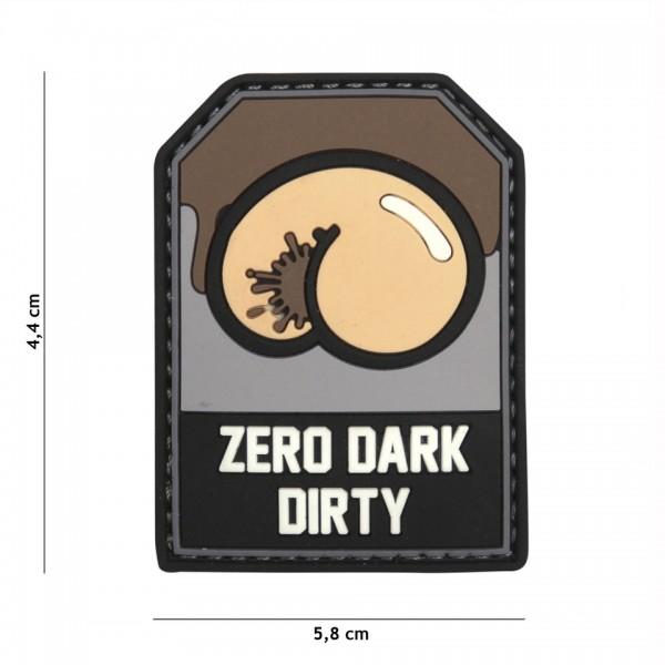 Patch 3D PVC Zero Dark Dirty
