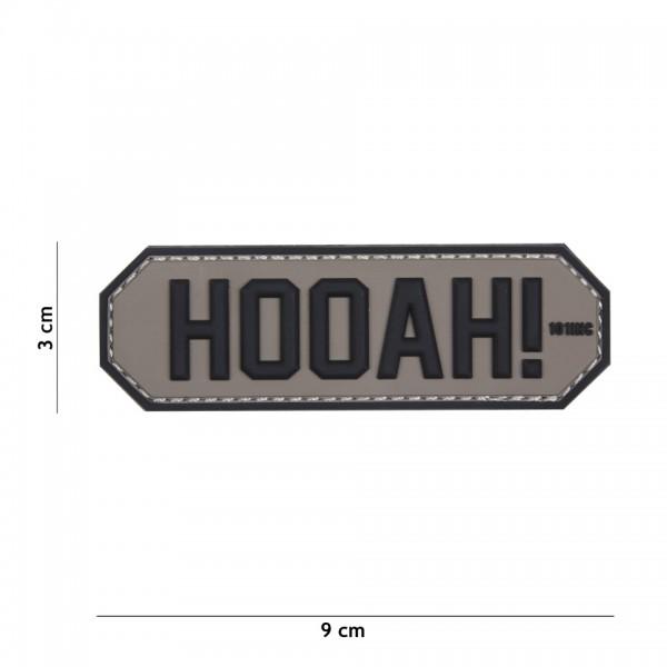 3D PVC HOOAH Patch