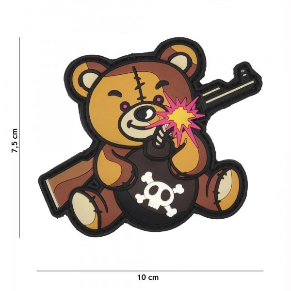 Patch 3D PVC Terror Teddy