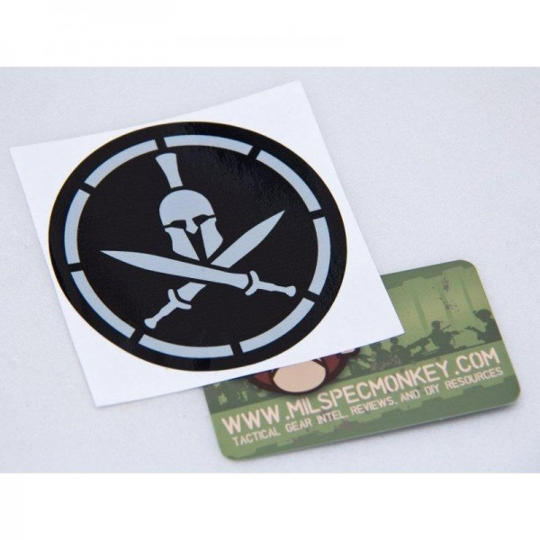 Milspec Monkey Spartan Helmet Sticker