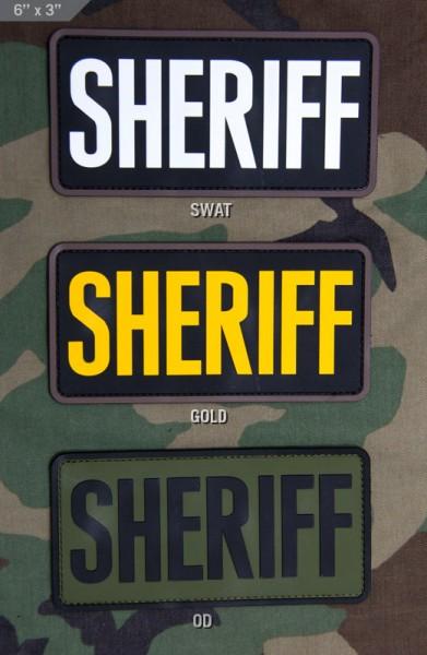 Mil Spec Monkey Patch SHERIFF PVC