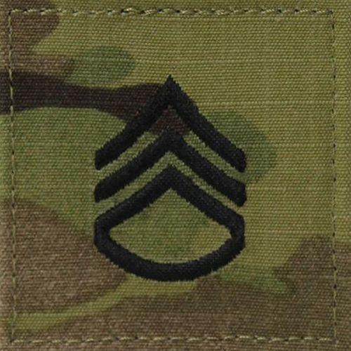 OCP Staff Sergeant E6 Rang Patch