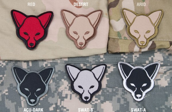 Mil Spec Monkey Patch Fox Head