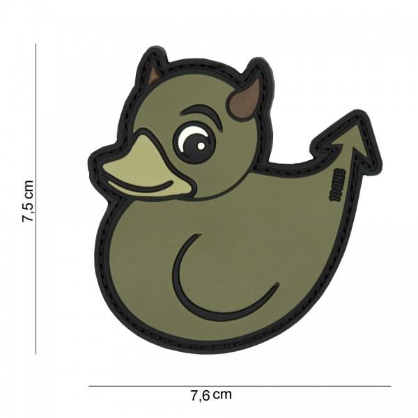 3D PVC devil duck Patch