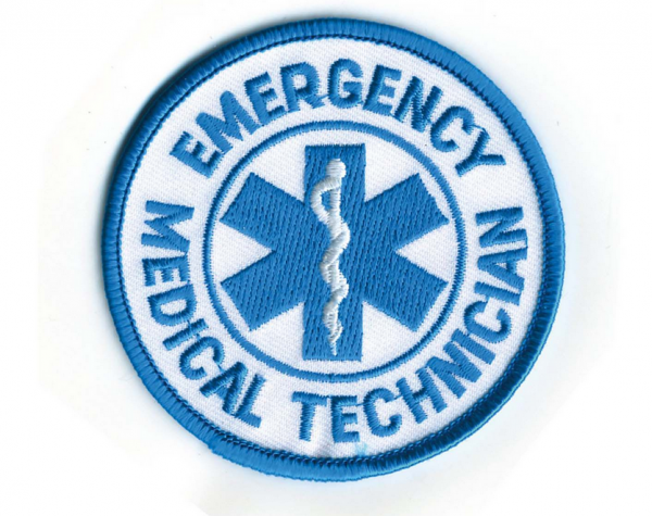 Rothco EMT Patch Rund Emergency Medical Technician Medic