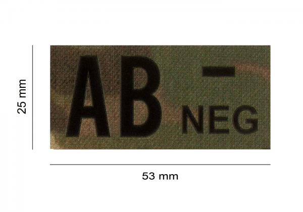 ClawGear IR Infrarot Patch AB NEG