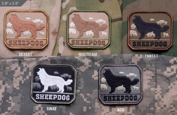 Mil Spec Monkey Patch Sheepdog