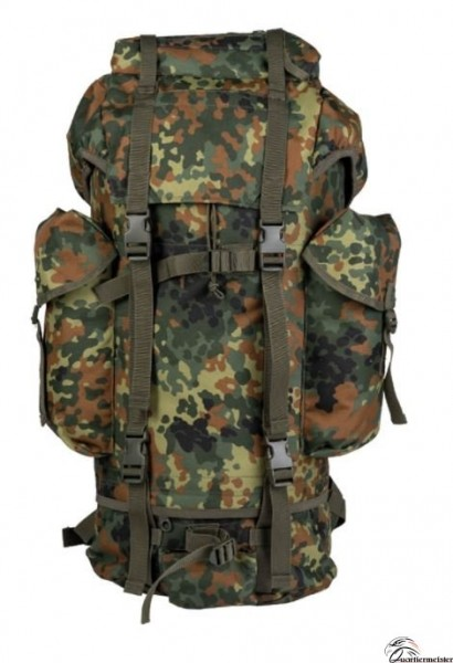 MIL TEC BW Kampfrucksack 600D Flecktarn