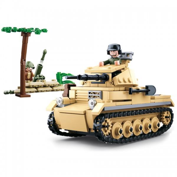 Sluban WWII small German Panzer