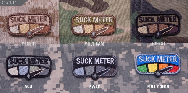 Mil Spec Monkey Patch Suck Meter