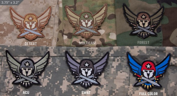 Mil Spec Monkey Patch Modern Spartan