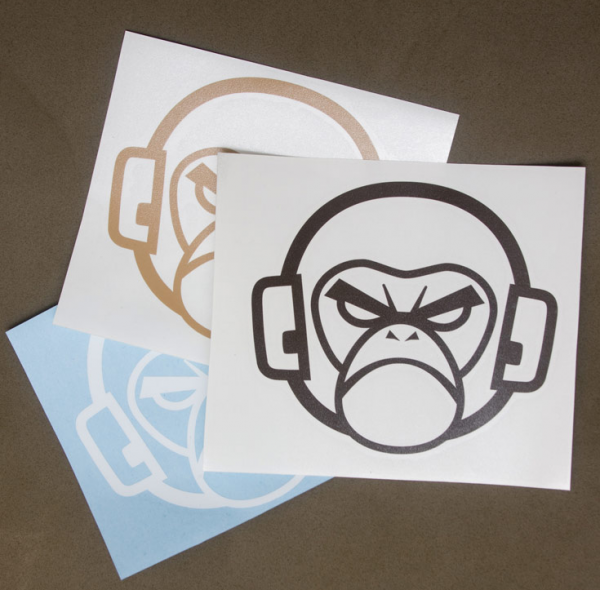 Milspec Monkey Logo Sticker klein