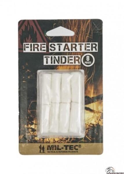 MIL TEC Fire Starter Tinder 8 Stk.