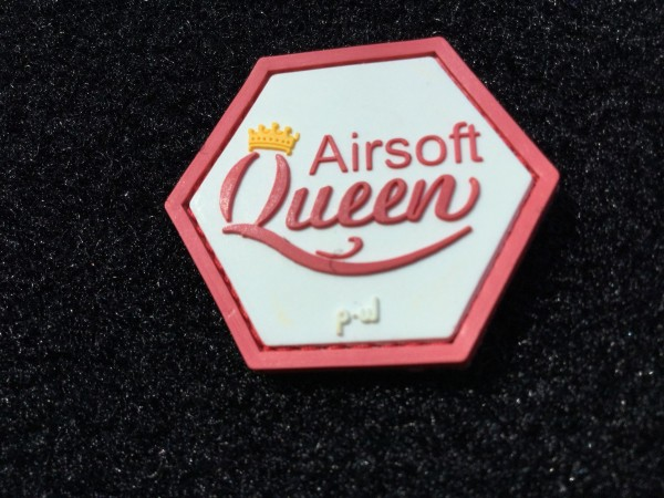 PW Airsoft Queen 3D PVC Hex patch