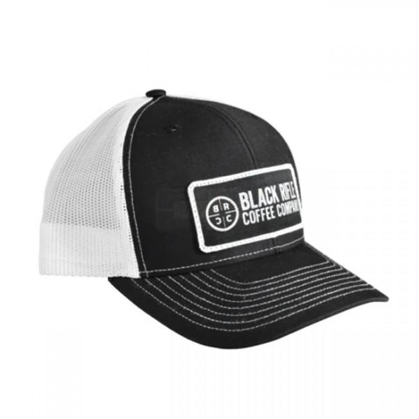 Black Rifle Coffee Classic Company Logo Patch Hat Black & White