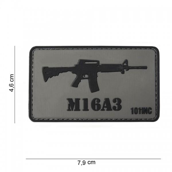 3D PVC M16A3 Gun Patch