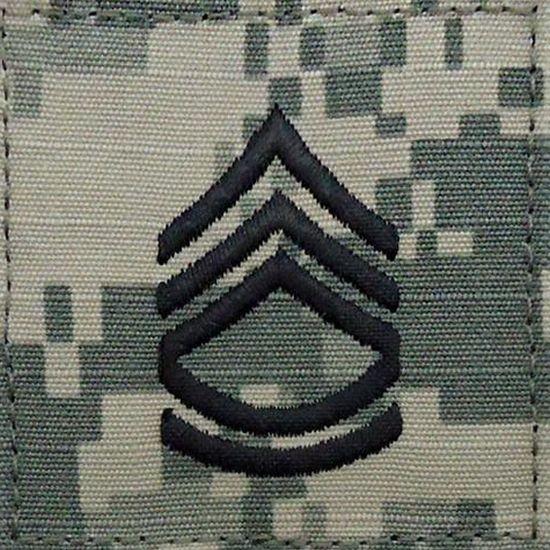 ACU Sergeant First Class E7 Rang Patch